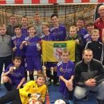 Latgales jaunatnes telpu čempionātā 11 komandu konkurencē 1.vieta