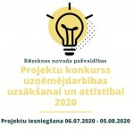 projektu konkurss 2020